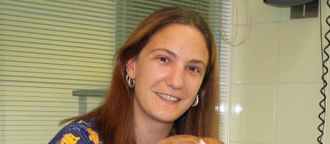 Patricia, auxiliar de Clínica Veterinaria Villava