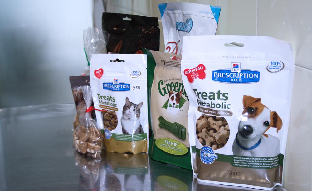 premios para mascotas en la tienda de Clínica Veterinaria Villava